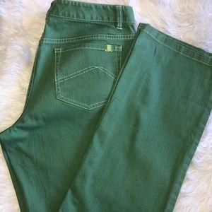 Sigird Olsen size 8 green jeans